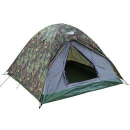 Barraca de Camping Iglu Kongo 3P Nautika + Colchão Inflável Solteiro Star