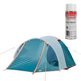 Barraca de Camping Indy 2/3 Pessoas Nautika + Impermeabilizante para Barraca Coleman