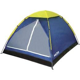 Barraca de Camping Mor Tipo Iglu para até 4 Pessoas Azul