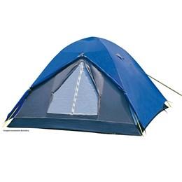 Barraca de Camping Nautika Fox 7 Pessoas + 2 Colchões Infláveis Solteiro Aveludado Star