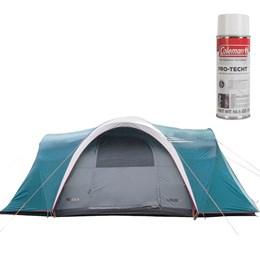 Barraca de Camping Nautika Iglu Laredo + Impermeabilizante de Tecido para Barraca Coleman