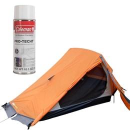 Barraca de Camping Nepal 2 Pessoas Azteq + Impermeabilizante para Barracas Coleman