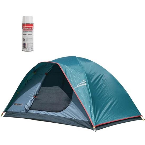 Barraca de Camping Oregon GT 3/4 Pessoas Nautika + Impermeabilizante para Barracas Coleman