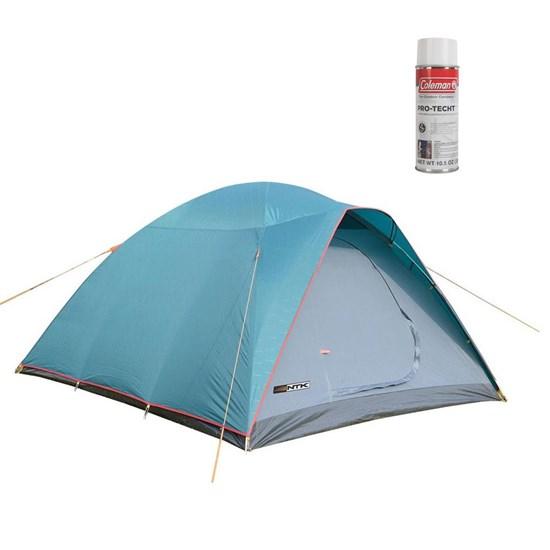Barraca de Camping Oregon GT 5/6 Pessoas Nautika + Impermeabilizante para Barracas Coleman