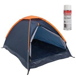 Barraca de Camping Panda 2 Pessoas Nautika + Impermeabilizante para Barraca Coleman