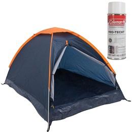 Barraca de Camping Panda 3 Pessoas Nautika + Impermeabilizante para Barracas Coleman