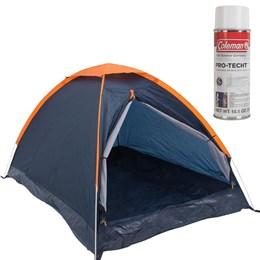 Barraca de Camping Panda 4 Pessoas Nautika + Impermeabilizante para Barracas Coleman