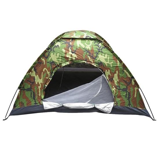 Barraca de Camping Rotony 3 Pessoas 280mm Coluna D'água Camuflada