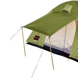 Barraca de Camping Trilhas e Rumos Cobra 4 Pessoas 2000mm Verde