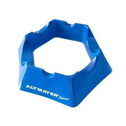 Base Niveladora Altmayer AL252 para Rolo de Treinamento Azul Claro