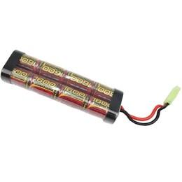 Bateria para Rifle de Airsoft NiMh 9,6V 1600mAH Modelo Brick