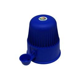 Bebedouro Semi-automático 2 L Pet Raças Pequenas Vida Mansa Polipropileno Azul Marinho