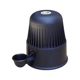Bebedouro Semi-automático 2 L Pet Raças Pequenas Vida Mansa Polipropileno Preto