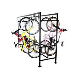 Bicicletario de Correr Duplo para 20 Vagas - Altmayer AL-99