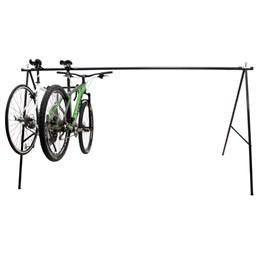 Bicicletário Dobrável Tipo Cavalete para 10 Bicicletas - Altmayer AL-47