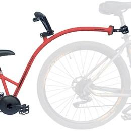 Bike Caroninha Quadro de Reboque Aro 20 Completo Vermelho