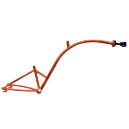 Bike Caroninha Quadro de Reboque Aro 20 Laranja