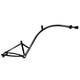 Bike Caroninha Quadro de Reboque Aro 20 Preto