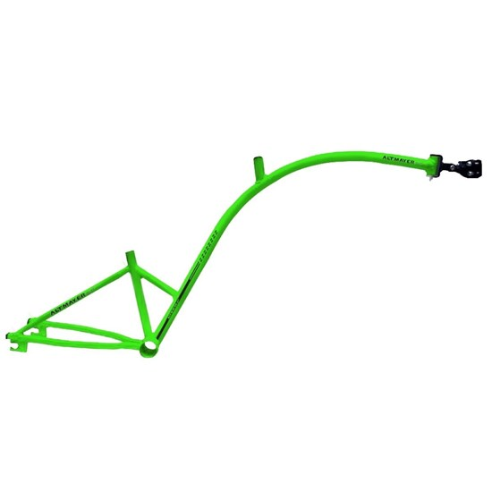 Bike Caroninha Quadro de Reboque Aro 20 Verde