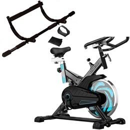 Bike Spinning ONeal TP1000 Semi Profissional + Barra de Porta Multifuncional Liveup