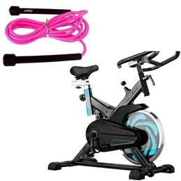 Bike Spinning ONeal TP1000 Semi Profissional + Corda de Pular LS3115P