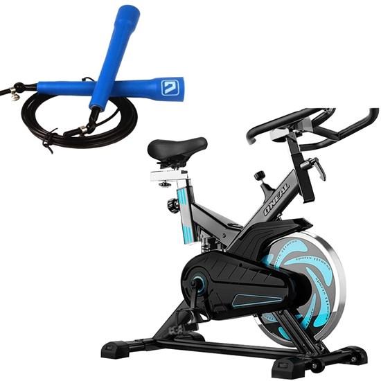 Bike Spinning ONeal TP1000 Semi Profissional + Corda de Pular LS3140