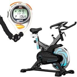 Bike Spinning ONeal TP1000 Semi Profissional + Cronômetro Liveup LS3347