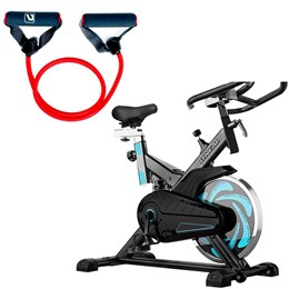 Bike Spinning ONeal TP1000 Semi Profissional + Elástico 1 Via Liveup Super Forte