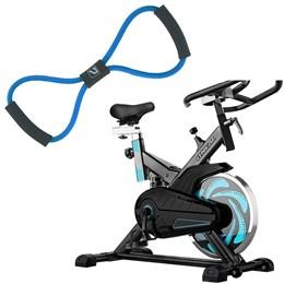 Bike Spinning ONeal TP1000 Semi Profissional + Elástico Extensor em Oito Liveup
