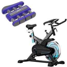Bike Spinning ONeal TP1000 Semi Profissional + Hand Grip Liveup LS3338B/F