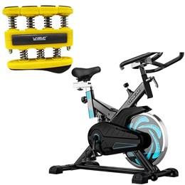 Bike Spinning ONeal TP1000 Semi Profissional + Hand Grip Liveup LS3338B/L