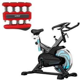 Bike Spinning ONeal TP1000 Semi Profissional + Hand Grip Médio Liveup LS3338B/M
