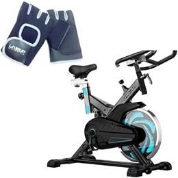 Bike Spinning ONeal TP1000 Semi Profissional + Luva Musculação G/GG Liveup
