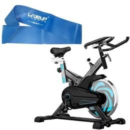 Bike Spinning ONeal TP1000 Semi Profissional + Mini Band Forte Liveup