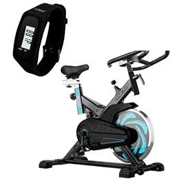 Bike Spinning ONeal TP1000 Semi Profissional + Pedômetro Liveup LS3348P