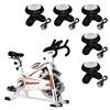 Bike Spinning ONeal TP1100 Semi Profissional + 5 Mini Massageadores Corporal USB Pilha Preto
