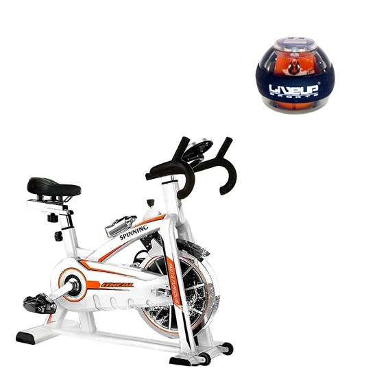 Bike Spinning ONeal TP1100 Semi Profissional + Giroscópio Power Ball LIVEUP LS3321B
