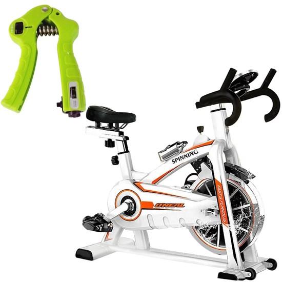Bike Spinning ONeal TP1100 Semi Profissional + Hand Grip Ajustável LiveUp LS3332