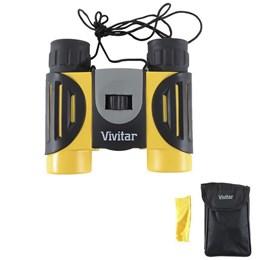 Binóculo Zoom 8X Vivitar AV825 AquaSeries Lente 25mm Amarelo