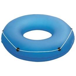 Boia Circular Inflável Bestway Azul com Cordas de Segurança