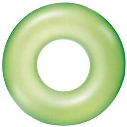 Boia Circular Inflável Bestway Neon 91cm Verde em Vinil