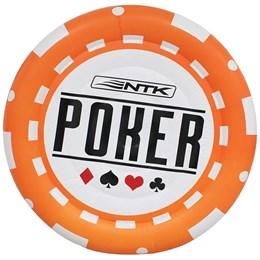 Boia Ficha Nautika Poker Chip para 2 Pessoas Laranja