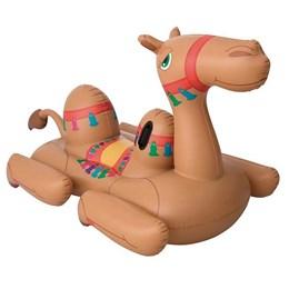 Boia Inflável Mor Camelo em PVC Suporta até 90 Kg