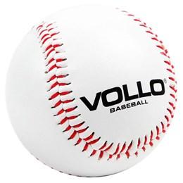 Bola de Beisebol para Treino 9 Polegadas em Couro Sintético - VOLLO BC1090