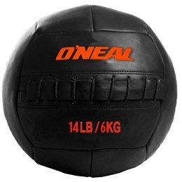 Bola de Couro para Crossfit e Treinamento Funcional 6 Kg Oneal Wall Ball