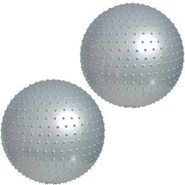 Bola de Massagem para Pilates 65 CM 2 Unidades - LIVEUP