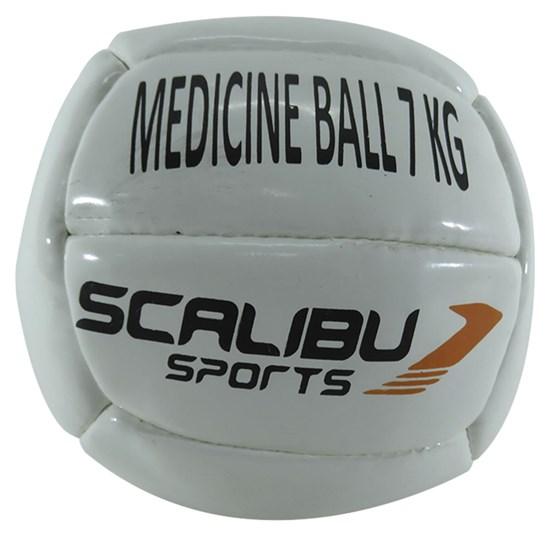 Bola de Peso Medicine Ball 7 kg Scalibu para Treino Funcional