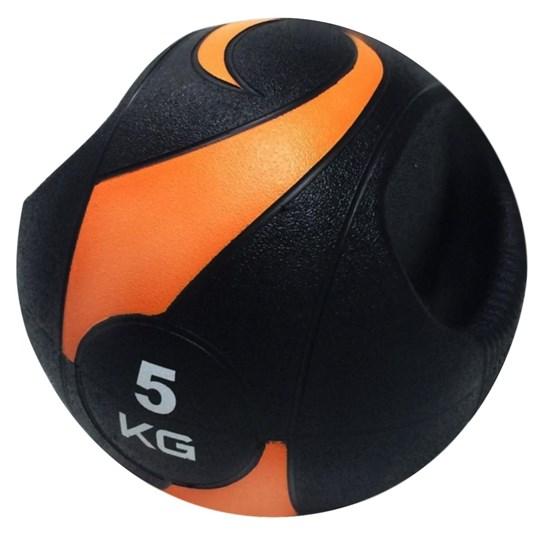 Bola de Peso Medicine Ball com Pegada 5Kg - LIVEUP LS3007A/5