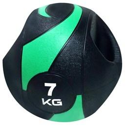 Bola de Peso Medicine Ball com Pegada 7Kg - LIVEUP LS3007A/7