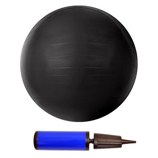 Bola de Pilates GYM Ball PVC 85cm Cinza ACTE T9-85